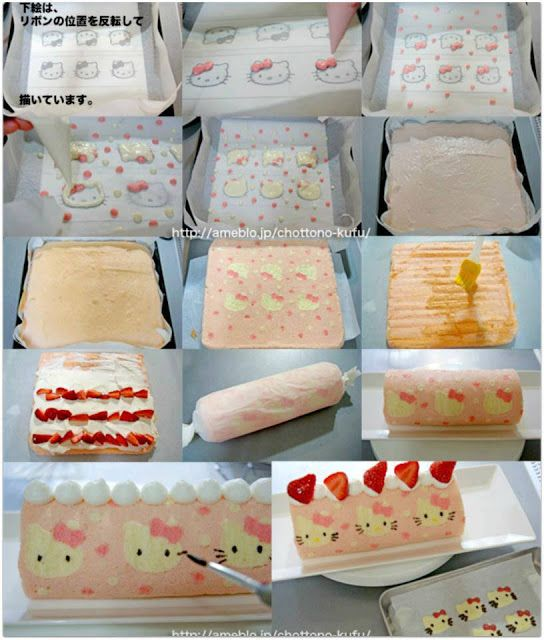 DIY: Torta da Hello Kitty                                                                                                                                                                                 Mais