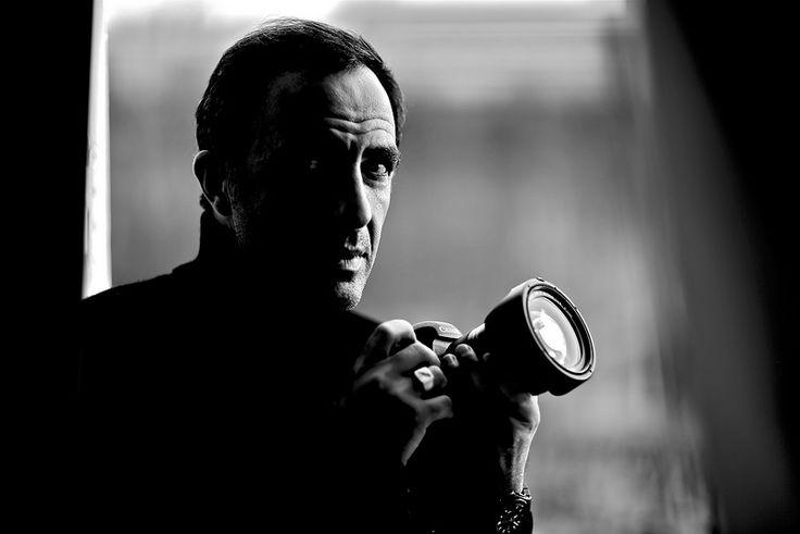 #Paris Portrait de Nikos Aliagas by Albéric Jouzeau www.tendanceproduction.fr