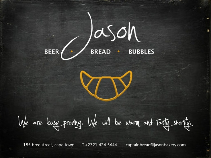 Jason's Bakery. Made with real unicorn horn.