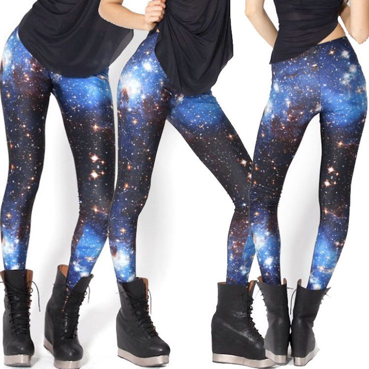 Galaxy Stars Digital Printing Leggings Yoga Pants Tights Workout - Street Style,Yoga,Dance,Korea,Hip Hop,Jazz Funk,Rock,Funky,Skinny #F074 by EcoCorner on Etsy https://www.etsy.com/listing/233241161/galaxy-stars-digital-printing-leggings