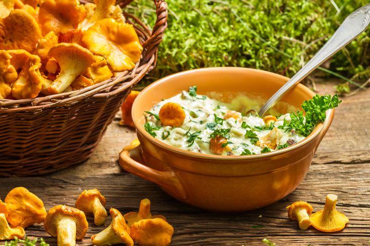 Kurki przepis na kremowy sos