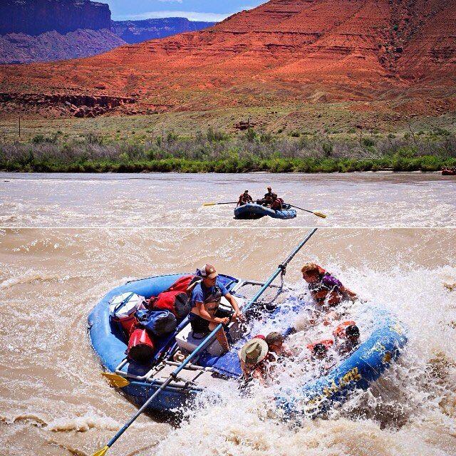 Rie og hendes familie har i sommerferien bl.a. været på whitewater rafting på Colorado River, Utah  #USA #Moab #Utah #ColoradoRiver #River #tagalong #familie #familierejser #rafting #whitewater #adventuremoab #adventure #NyhavnRejser #drømmerejser #natur #PlacesAroundEarth #BestVacation #travel #Vacation #TravelAndLife #nature #worlderlust