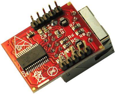 Breakout ENC28J60 - Contrôleur Ethernet pour microcontroleur