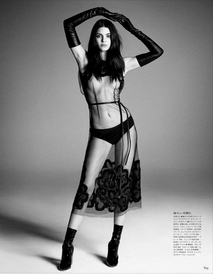 fashion kendall jenner. seminude
