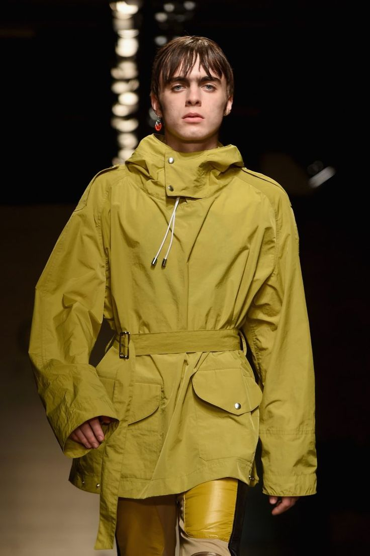 See Liam Gallagher's son Lennon make his catwalk debut