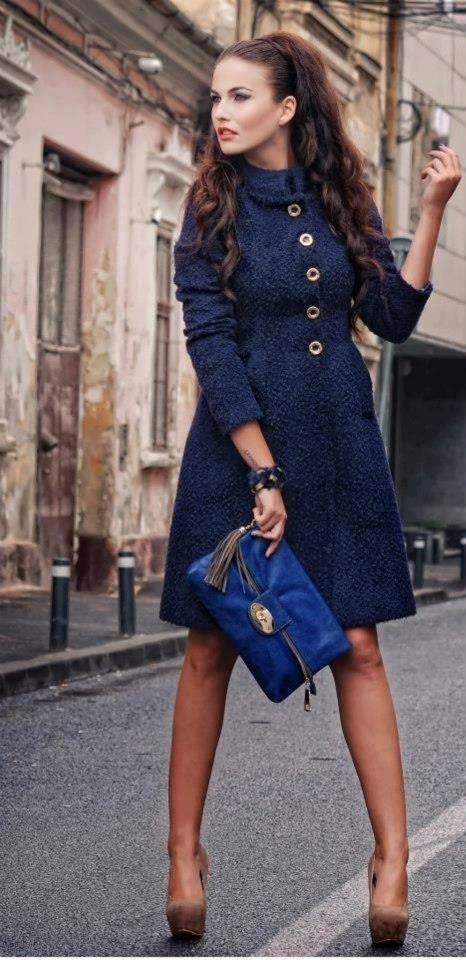 Fall coat 2013 (via Fashion Residence)                              …