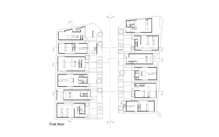 京都 K-12プロジェクト テラスハウスの設計