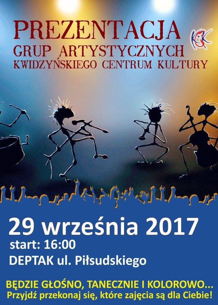 Prezentacja grup artystycznych KCK, wrzesień 2017 r.