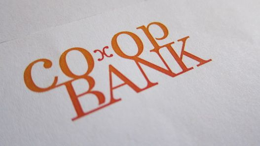 Logo as part of branding project. Co-op Bank 2012