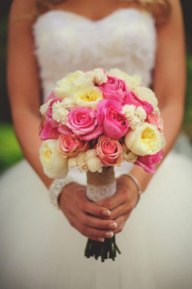 pink bouquet // photo by jasonmizephotography.com