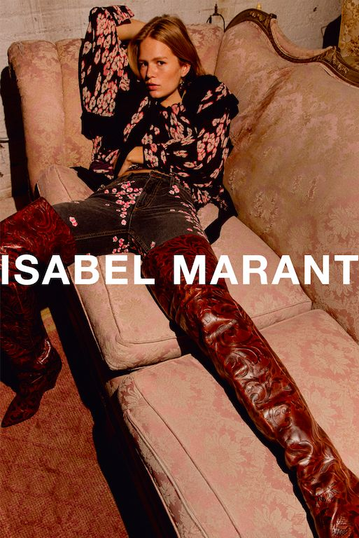 The best fall ads of 2017: Isabel Marant.