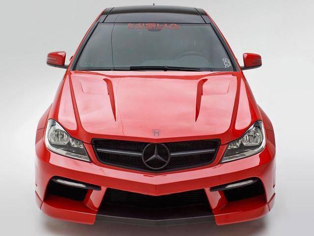 Mercedes C250 by MISHA designs. www.MISHAdesigns.com