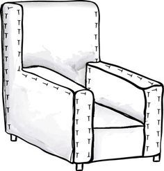 Easy instructions on making custom fit slipcovers