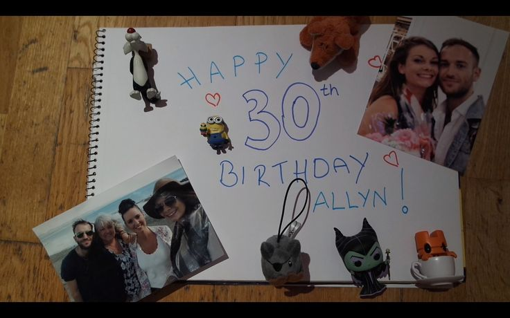 Happy 30th Birthday Allyn! A montage I created for my boyfriend's birthday of his closest family, friends and a cardistry idol giving a lovely birthday message.