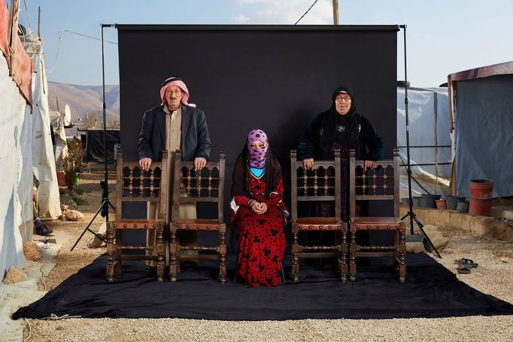 """Dario Mitidieri, Italy (Professional, Portraiture) Lost Family Portraits. """"March 2017 will mark the 6th anniversary of the beginning of the war in Syria. More than 470,000 people have died since. In all, 11.5% of the country's population have either been killed or injured. 45% of the population have been displaced, 6.36 million internally and 4.8 million abroad. This is the biggest humanitarian emergency of our era."""