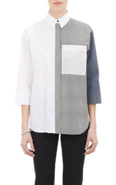 Solid & Stripe Shirt...'The Blouse Perfected' from www.cuttinglinedesigns.com