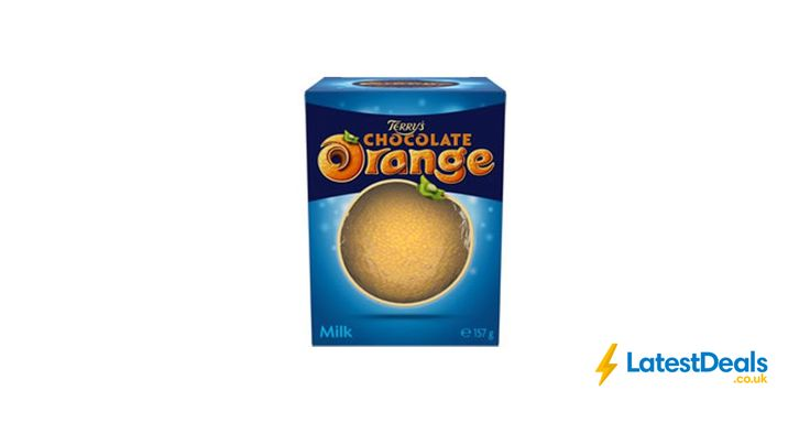 Terry Chocolate Orange Milk Ball 157g Free C&C, £1 at Wilko