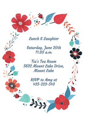 Customize, Add Text And Photos. Print For. Free Invitation TemplatesFree ...