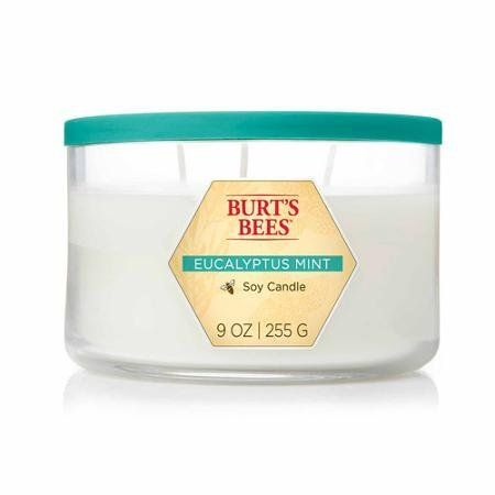 Blyth Home Scents International 111263 Burt'S Bees® Eucalyptus Mint 3-Wick Jar Candle -- Read more reviews of the product by visiting the link on the image. (This is an affiliate link and I receive a commission for the sales)