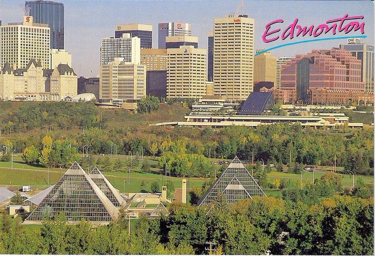 Travels with postcards around the world: EDMONTON