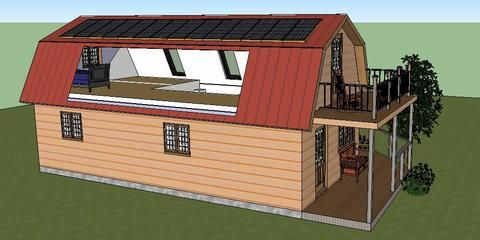Simple cheap home designs the first step of the beat Cottage construction costs