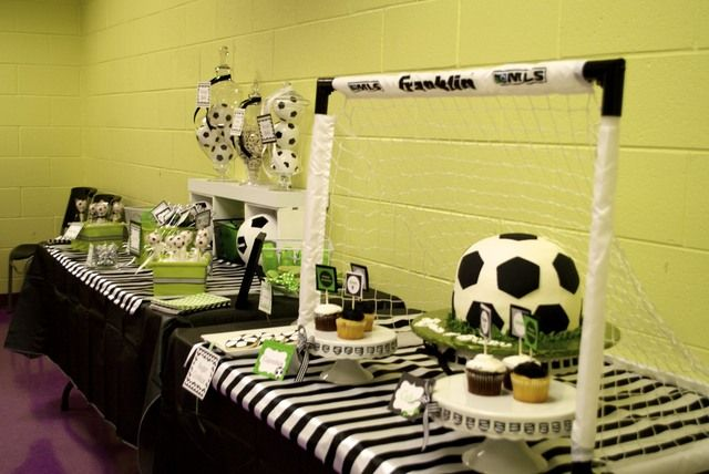 Soccer Birthday Party Ideas   Photo 4 of 26   Catch My Party