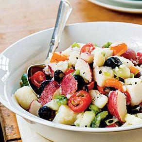 Healthy Potato Salad, Light Potato Salad