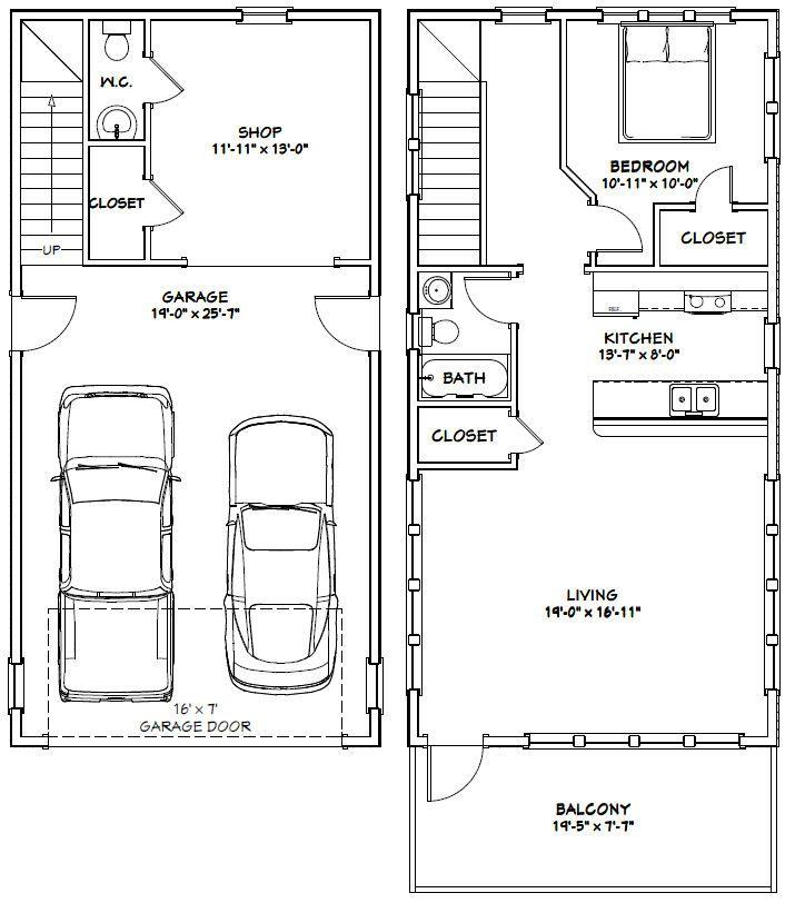 Best 25 20x40 House Plans Ideas On Pinterest