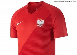 bb1f9af2a Poland 2018 World Cup Nike Away Kit