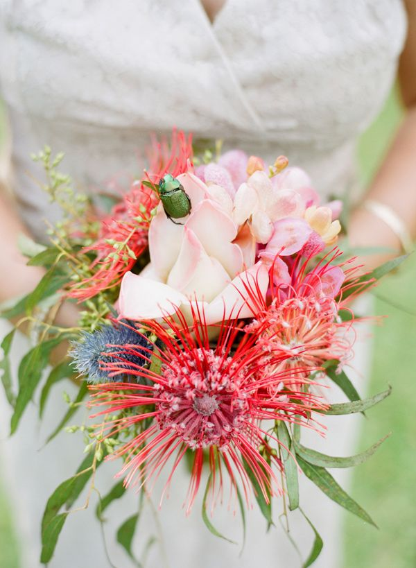 Wedding Flowers On Oahu : Tropical island bouquet photo by austin gros http