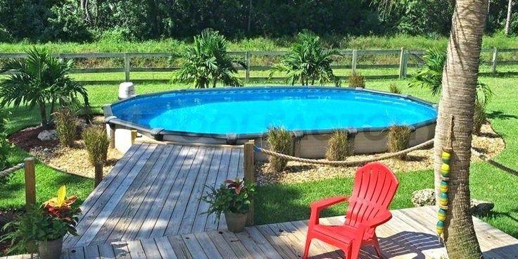 Above Ground Pool Deck Kits Oval Pools Customer Spotlight Premade Decks Prefab