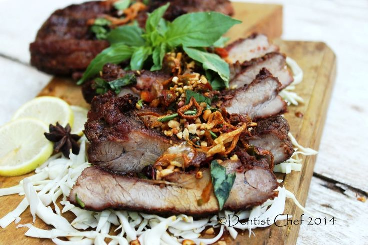 Balinese Style Barbequed Baby Back Ribs (Indonesian Sweet Soy Sauce Glazed Grilled Pork Ribs/Resep Babi Panggang Bumbu Bali)