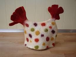 Image result for wet felted tea cosy