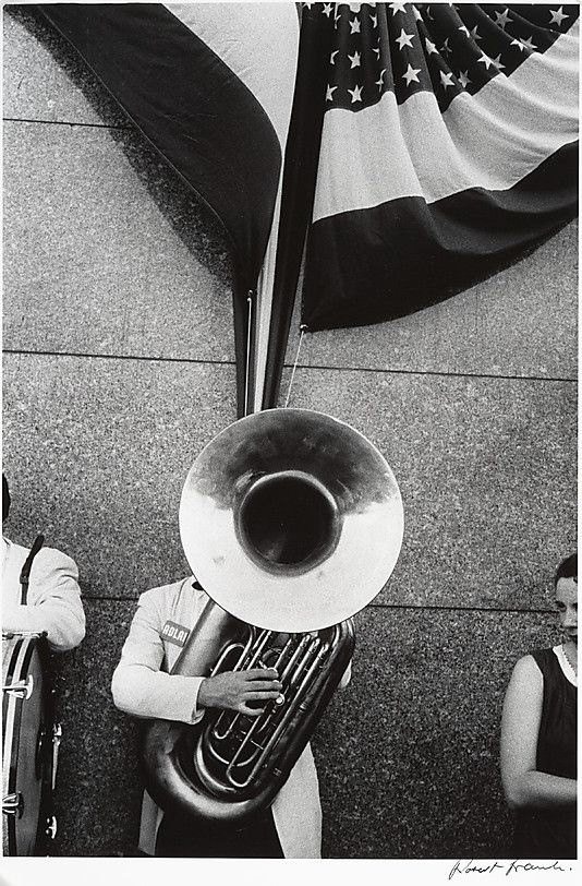 Political Rally - Chicago by Robert Frank (American, born Zurich, 1924)  Date: 1956, printed ca. 1977