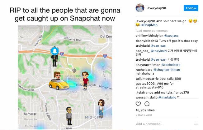 Best Snap Map Memes   Hilarious Snapchat Memes 2017 -- womendotcom