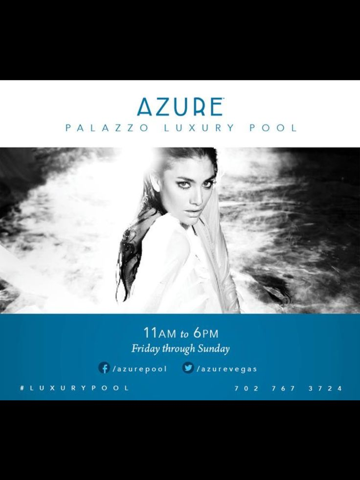 Underwater Photoshoot At Azure Pool At Palazzo Make Up By