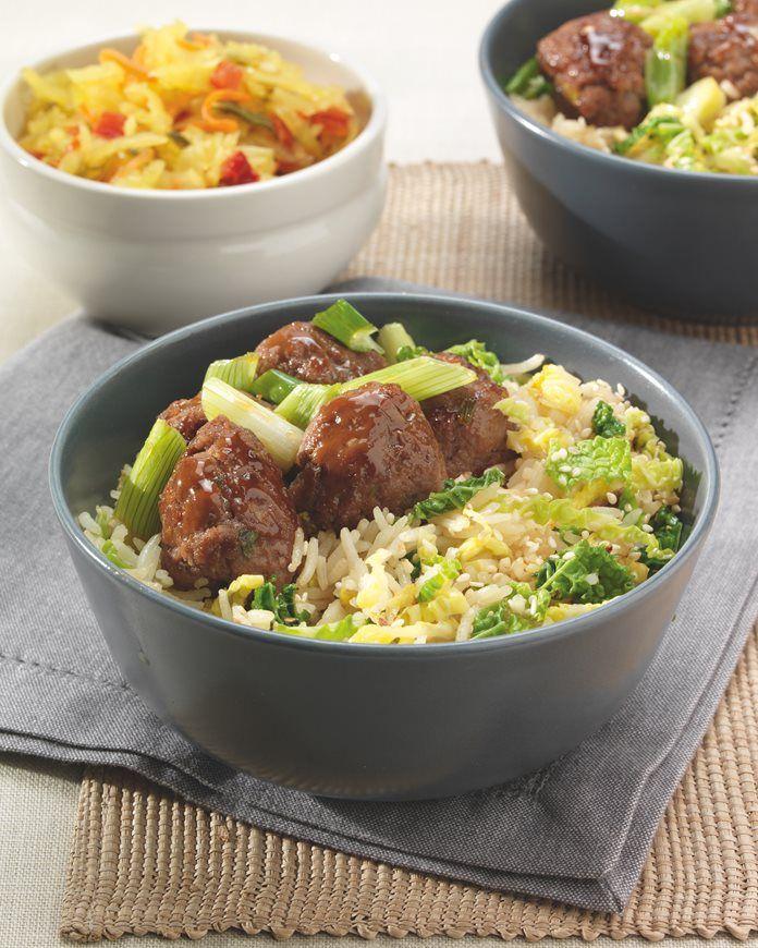Rundergehakt met rijst en groene kool recept