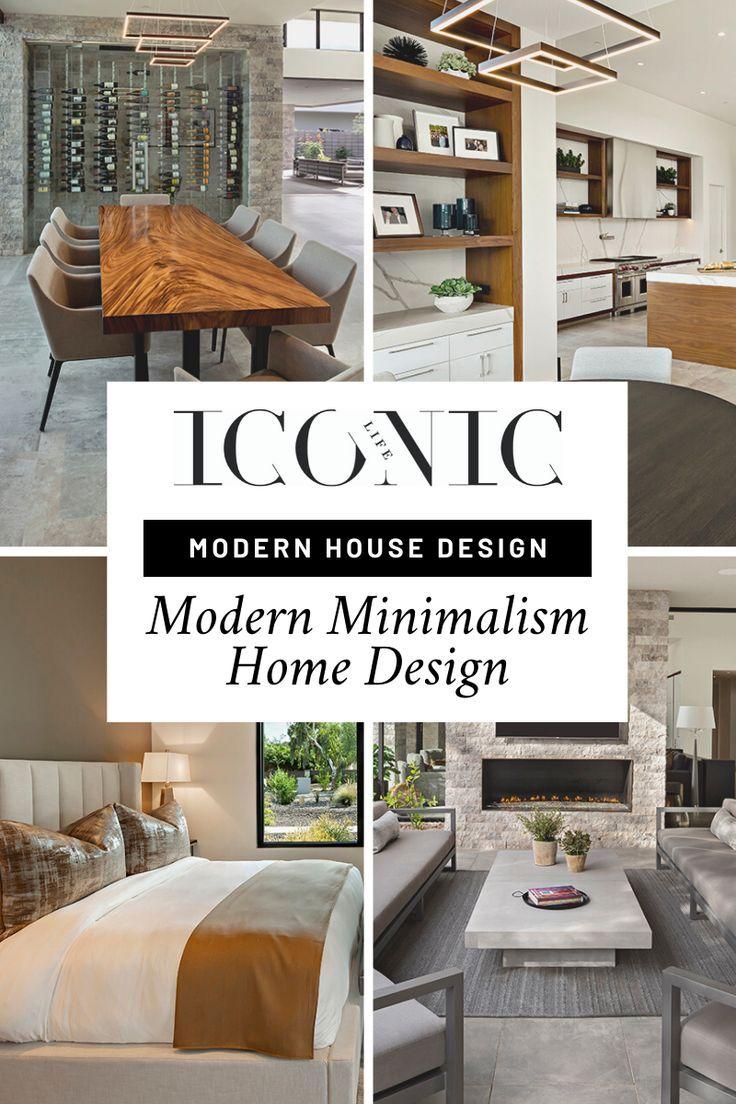 Modern Minimalist Home Design In 2020 Modern House Design House Design Minimalist House Design