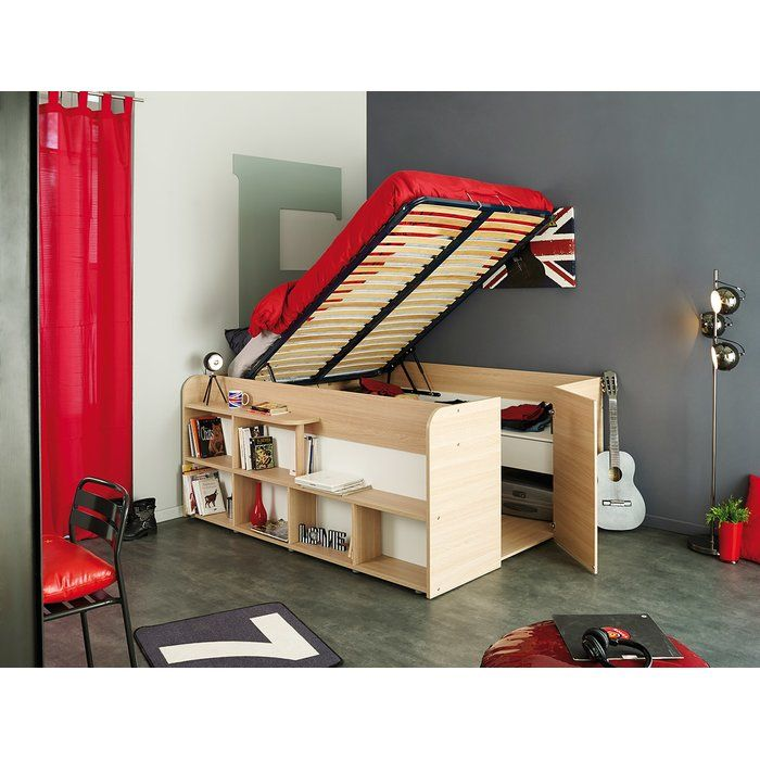 Lamont Storage Platform Bed Space Saving Furniture Ikea Bed