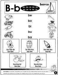 Resultado de imagen para actividades con la letra b for La b b