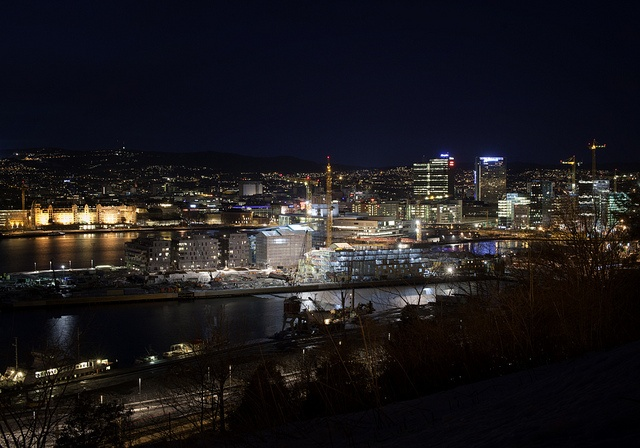 Oslo by night!