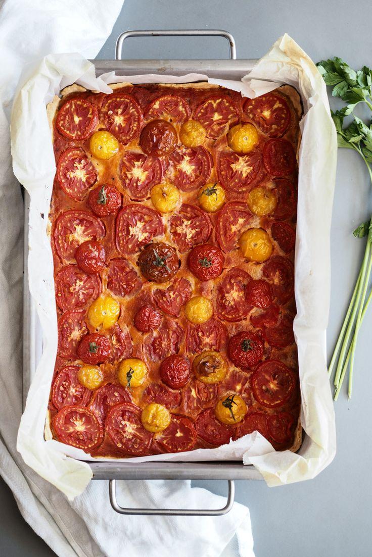 Rezept: Pikante Tomatentarte