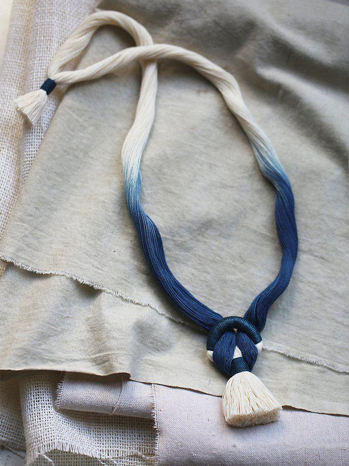 Free People Moody Blue Pendant, $98.00