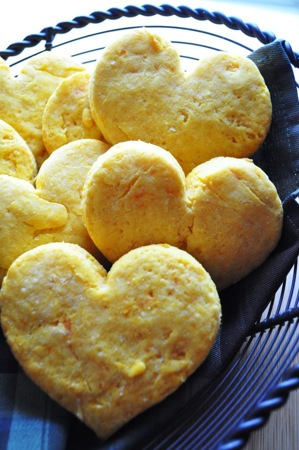 Sweet Potato Biscuits (Gluten Free)