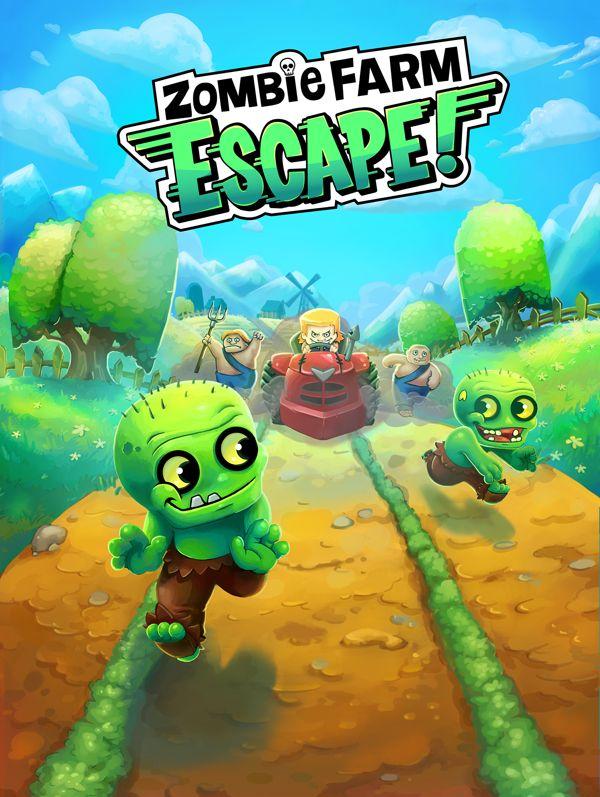 Zombie Farm Escape Concept Art on Behance