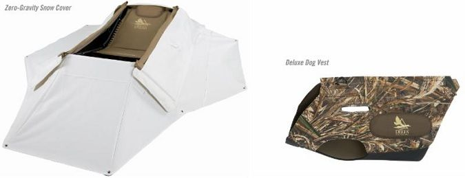 NEW: Deluxe Dog Vest and Zero-Gravity Snow Cover to Delta Waterfowl Gear Hunting Line