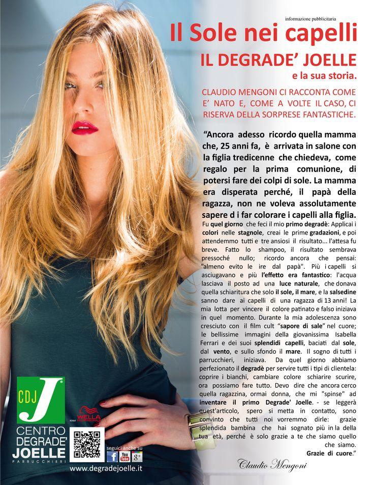 CDJ su Amica di Settembre 2013  #cdj #degradejoelle #claudiomengoni #rivista #siparladinoi