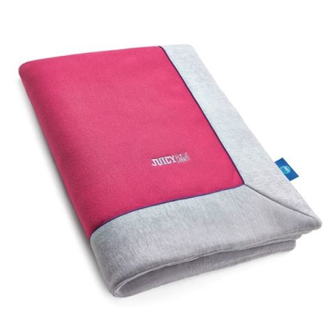 JUICY CHIC PINK kids quilt - Juicy Details  Multifunction and elegant quilt made of certified knitted cotton fabric and high quality cotton with enhanced softness and delicacy. Blanket is finished with colourful piping.
