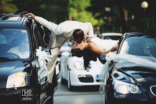 Spiderman's post-wedding photo.: Pictures Ideas, Kiss, Newborns Photo, Photo Ideas, Wedding Ideas, Dreams Wedding, Wedding Photo, Fearless Photographers, Wedding Pictures