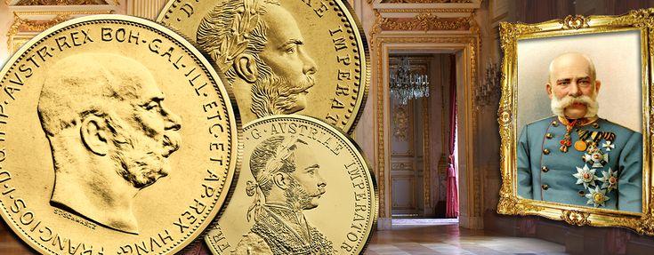 Kaisergold Franz Joseph I. - Traditionsbewusst & nah am Goldwert: Österreichs Handelsgoldmünzen